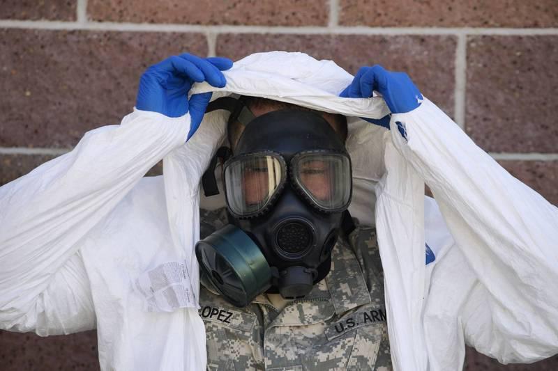 美軍方盼打造輕量化且防護性更高的防毒布料。(路透)