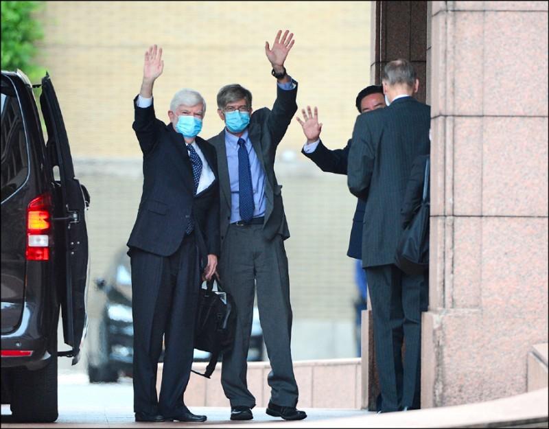 美國總統拜登指派「摯友」前參議員陶德率特使團來台。(資料照)