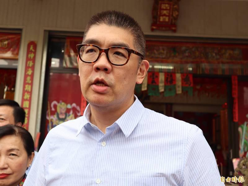 國民黨智庫副董事長連勝文對施打AZ疫苗持保留態度,並希望美國的朋友在台灣時能廣泛接觸社會各界不同的團體及個人,才能更全面性的了解台灣民眾的想法,可能對美國在擬定台灣或兩岸政策會有更大的幫助。(記者歐素美攝)