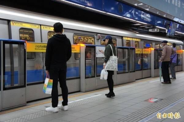 台北捷運現在已恢復正常營運。(資料照)