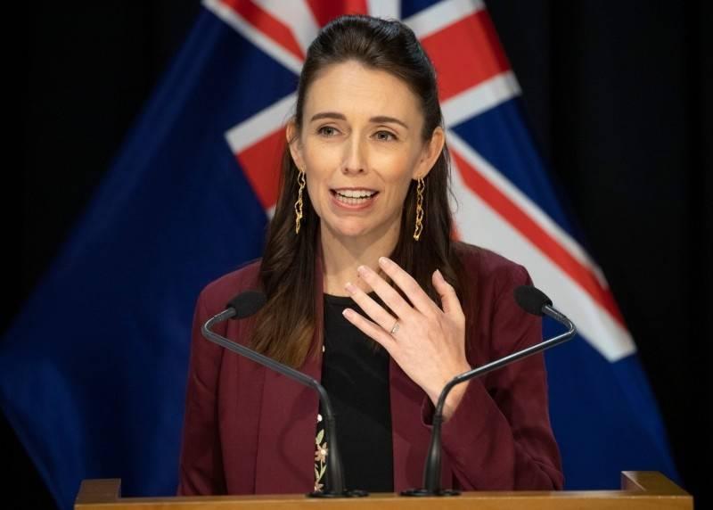 西蘭總理阿爾登去年曾公開表示,紐西蘭對抗疫情的策略,是要緊跟台灣模式。(法新社資料照)