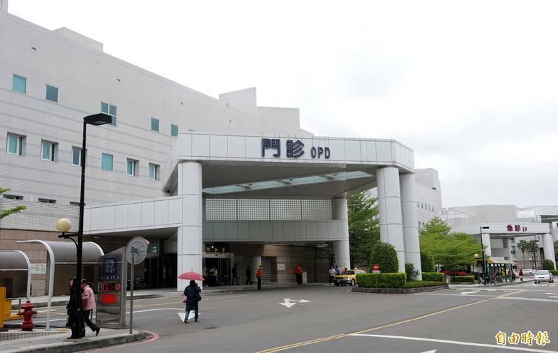 台北市內湖區三軍總醫院。(資料照)