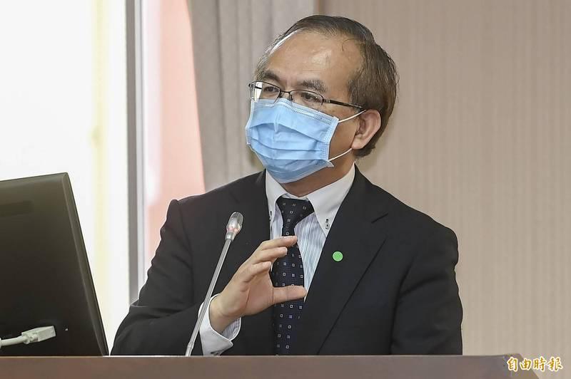 交通部政務次長陳彥伯出席立法院交通委員會。(資料照)