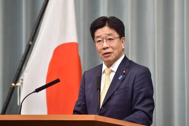 加藤今表示,對去年底於日本內閣會議未做出結論的擁有「敵基地攻擊能力」議題,將持續進行討論。(法新社)