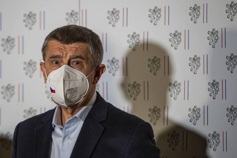 捷克總理巴比斯揭露俄國間諜在軍火庫爆炸案的涉案細節。(歐新社)