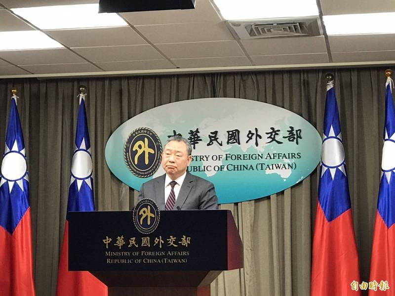 外交部拉美司長俞大㵢今表示,待國產疫苗能輸出後,國產疫苗也將是政府協助友邦取得疫苗的選項之一。(記者彭琬馨攝)