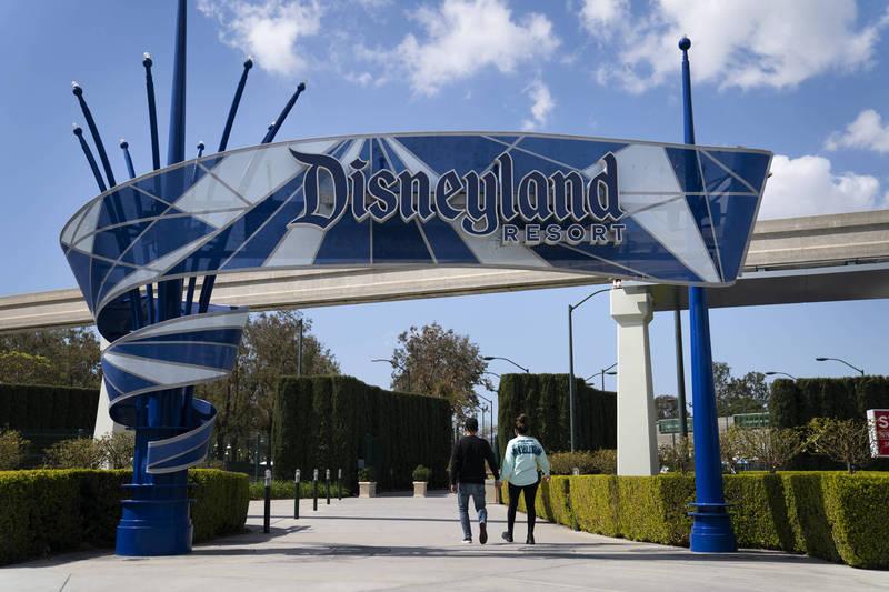 加州迪士尼樂園將於4月30日重新開放。(美聯社)