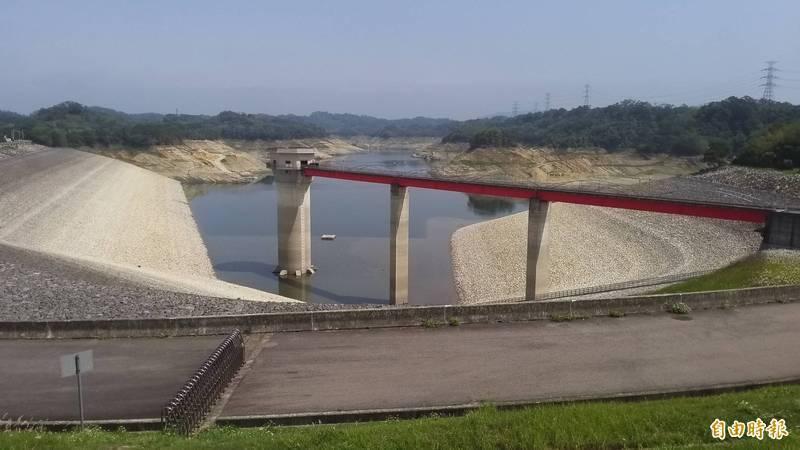 供應大新竹地區民生和新竹科學園區用水的寶山水庫、寶山第二水庫,水位再創新低。(資料照)