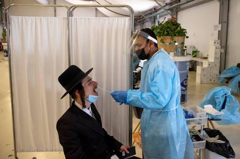 以色列目前已發現8起感染印度變種病毒的病例。(路透)