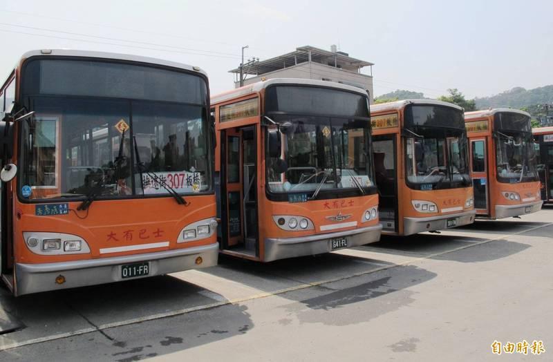 大有巴士。示意圖與新聞無關。(資料照)