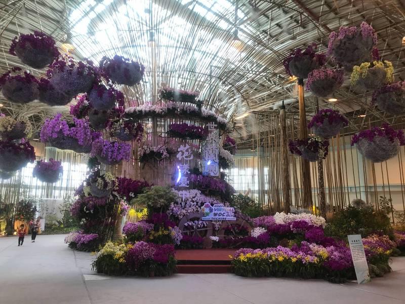 「第23屆世界蘭花會議暨展覽」,將於4月23日開幕,於24日起全面線上開展。(農業局提供)