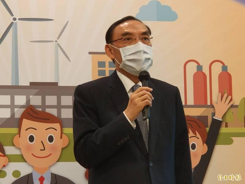 法務部長蔡清祥表示,我國仍有死刑,會審慎評估死囚案。(記者吳政峰攝)