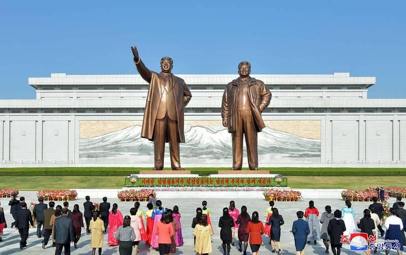 中國3月對北韓出口創6個月新高,達到1297.8萬美元(約台幣3.6億元)。(法新社)