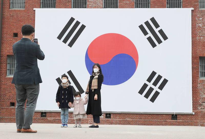 美國媒體分析,南韓民眾對中國的敵對情緒不斷增加。(歐新社資料照)