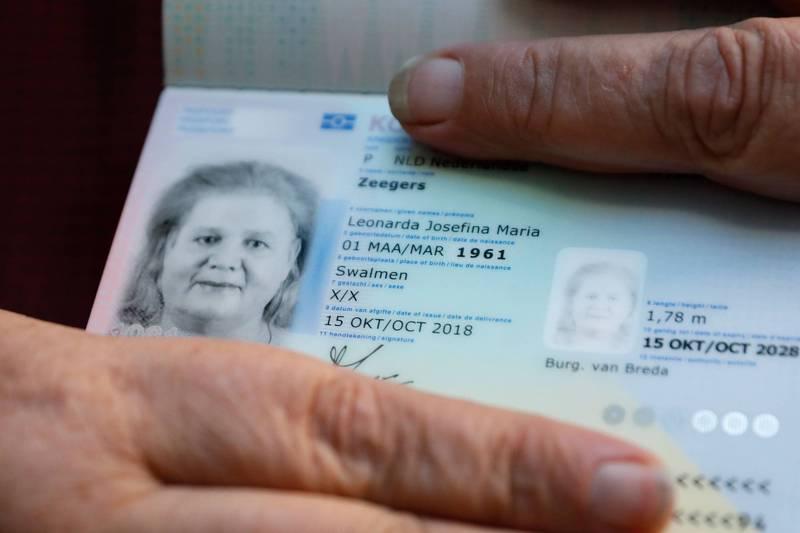 美國紐澤西州機動車輛管理委員會宣布,未來將在駕照和身分識別文件上加入「X性別」,示意圖。(法新社)