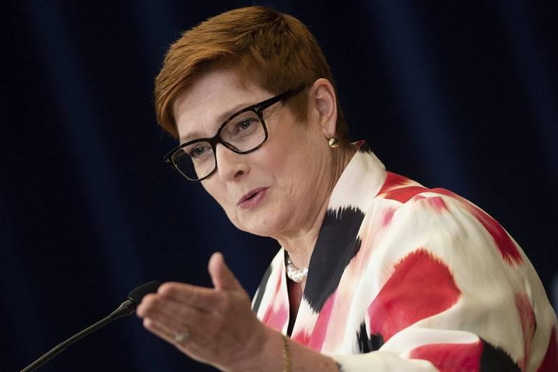 澳洲外交部長潘恩今天表示,聯邦政府將撤銷維多利亞州政府加入中國「一帶一路」計畫的決定。(美聯社資料照)