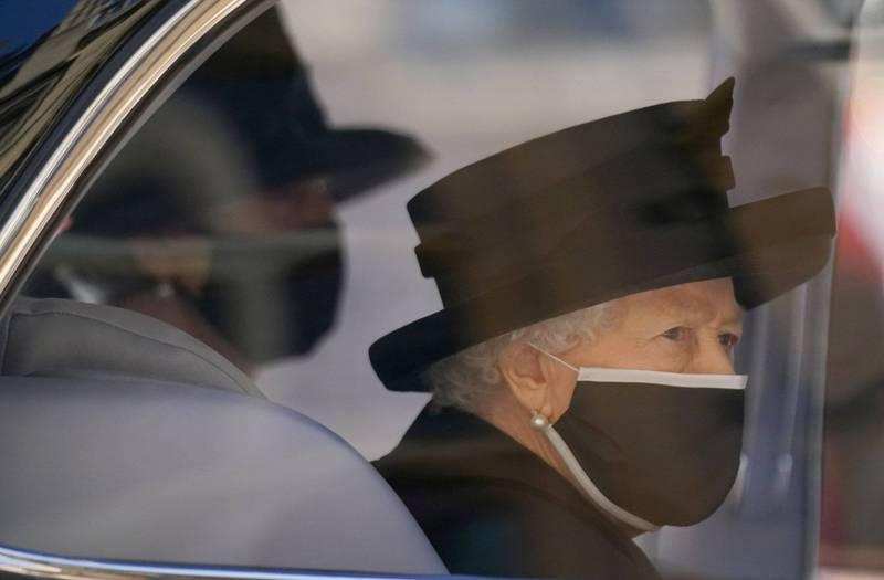 伊莉莎白女王將在今日(4/21)慶祝95歲生日,但由於丈夫剛逝世的緣故,一切將從簡。(路透社)