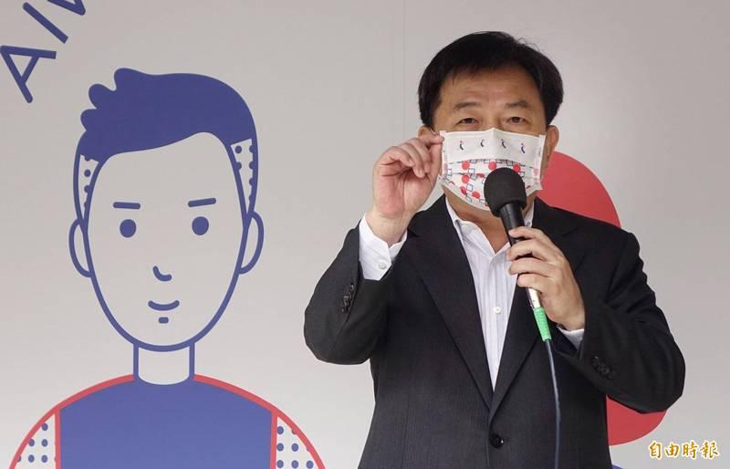 民進黨秘書長林錫耀(見圖)今在民進黨中常會中分析國民黨主席選舉情勢時說,外界目前是「看好江啟臣不會當選」,此話引起現場一片笑聲。(資料照,記者劉信德攝)