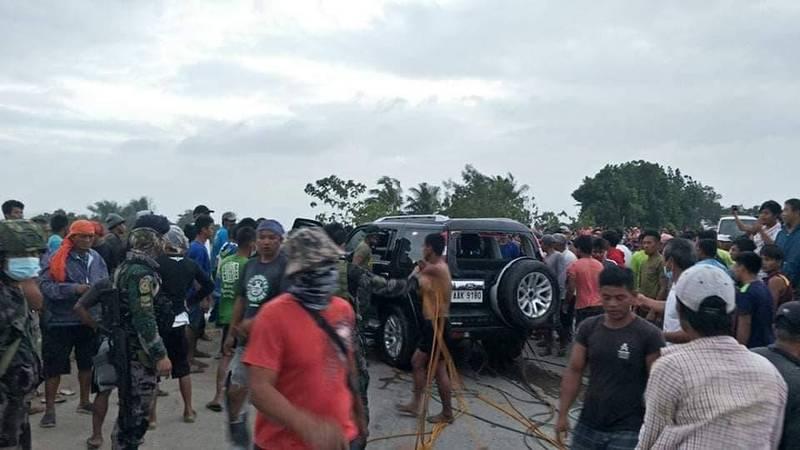 菲律賓卡林加省週日發生嚴重車禍釀13死。(圖翻攝自卡林加省地方政府官網)