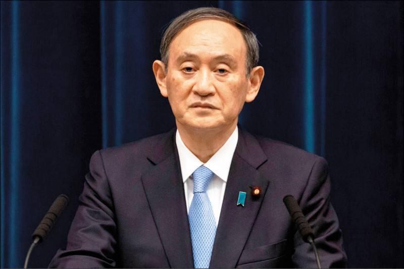 日本首相菅義偉預定月底訪問印度和菲律賓的行程,今天傳出因疫情可能取消。(法新社檔案照)