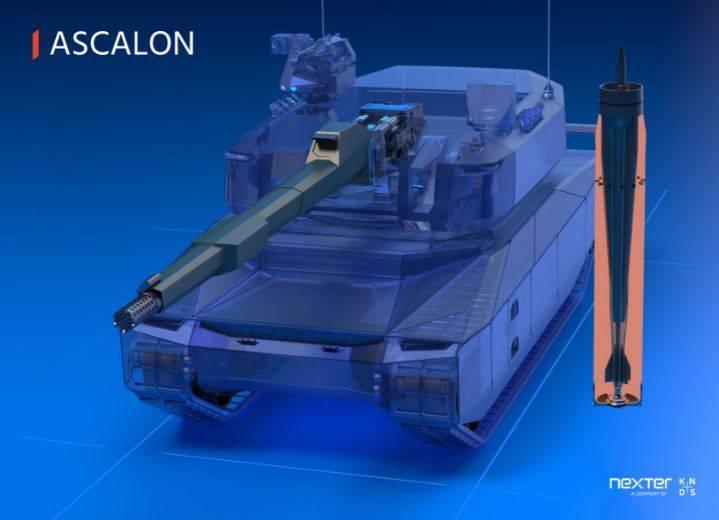 德法聯手打造的「新型主力戰車」概念圖,未來將採用口徑更大的「埋頭彈」來提升城市戰力。(圖翻攝自耐世特集團官網)