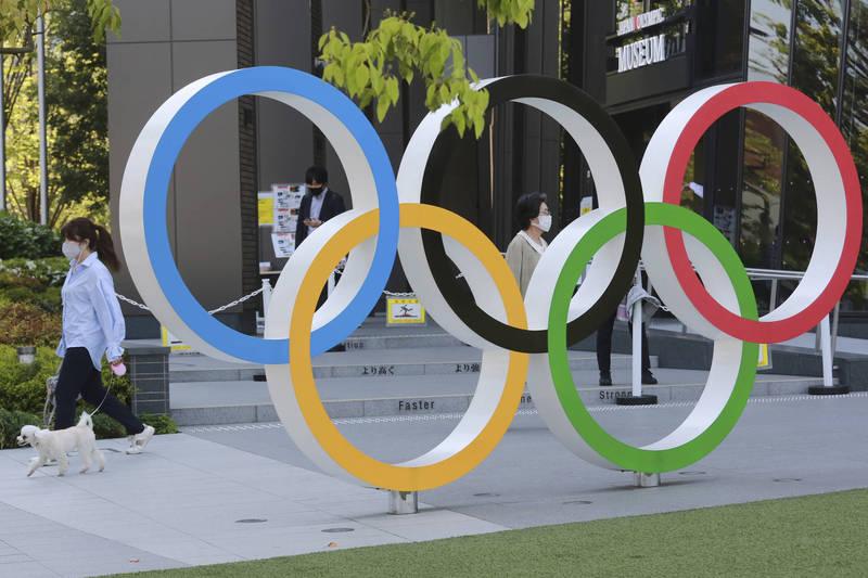 日本發布第三度緊急事態宣言,國際奧會回應夏季東奧將不受影響。(美聯社資料照)