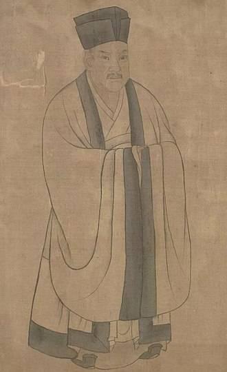 南宋宰相秦檜。圖為北京故宮典藏的秦檜畫像之一。(圖擷取自網路維基百科)