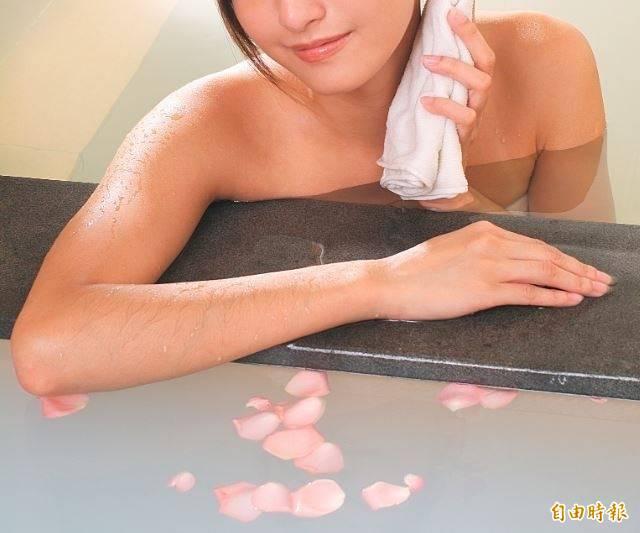 洗澡示意圖,與文無關。(情境照)
