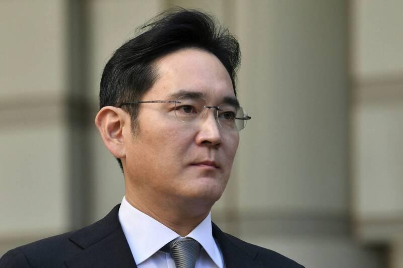 消息人士今日透露,南韓5個主要商業遊說團體計畫向政府提交一封信,建議赦免李在鎔。(法新社)