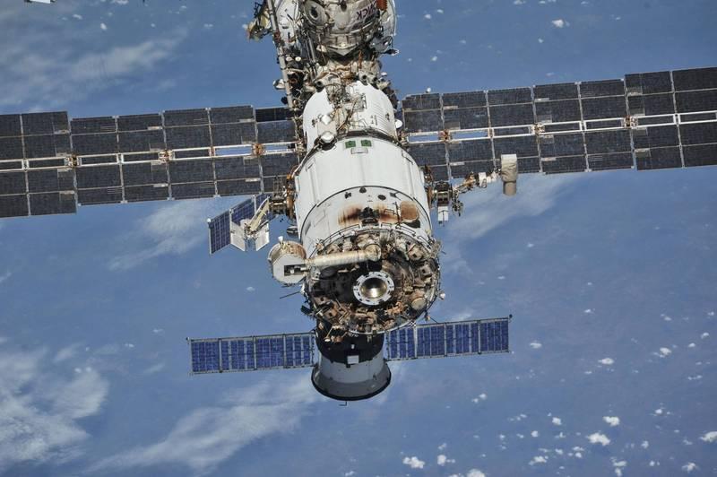 俄國宣布將自行建造太空站。圖為國際太空站。(路透)