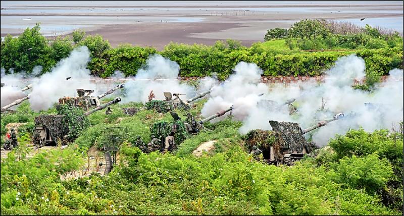 國防部今起將實施為期八天七夜的「漢光卅七號」電腦兵棋推演,採「複合式兵推」驗證應敵作為。(資料照)