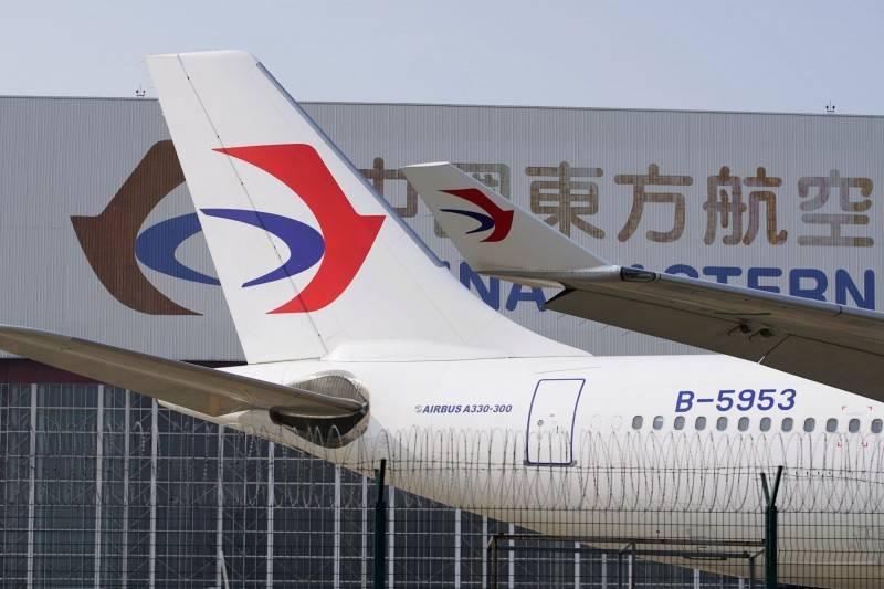 中國東方航空公司。(路透)