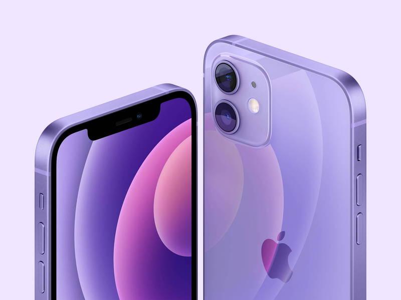 蘋果公司於春季發表會釋出了「隱藏版」的「紫色iphone12」。(歐新社)