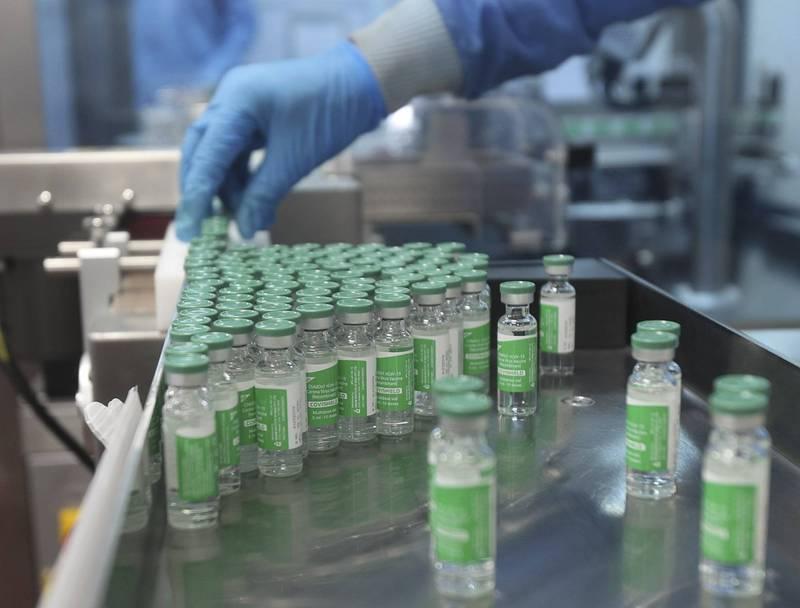 印度是武漢肺炎疫苗生產大國,但因國內疫情嚴重惡化,恐將影響到全球的疫苗供應。(美聯社)