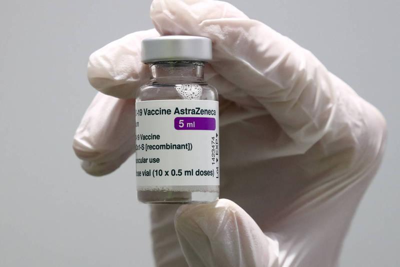 歐盟執行委員會今天表示,阿斯特捷利康未遵守疫苗合約,已採取法律行動。(資料照,美聯社)