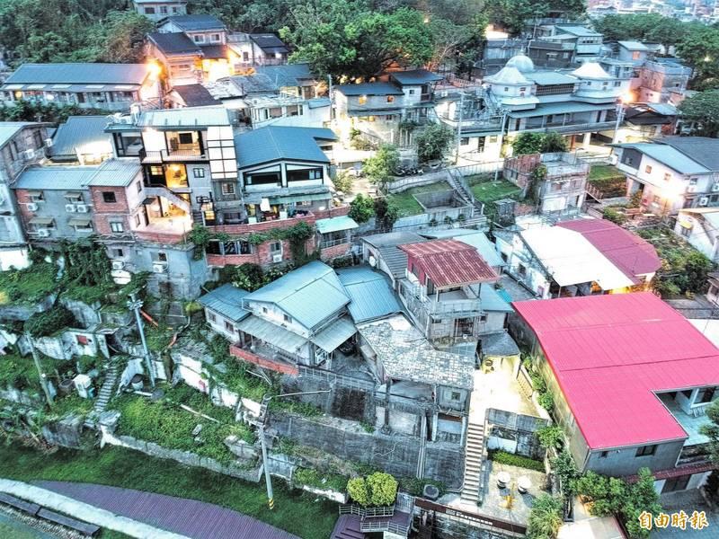台北市寶藏巖聚落。(資料照)