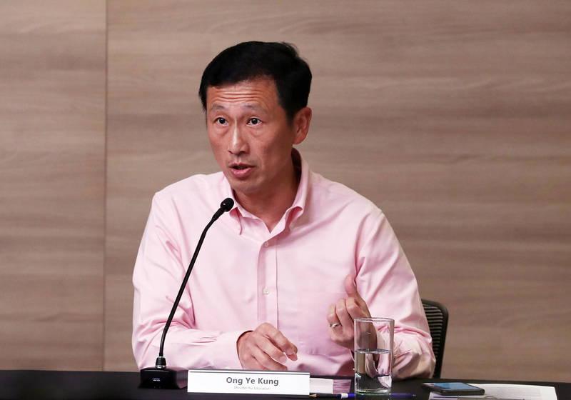 新加坡交長今天證實已向台灣提議共同建立旅遊泡泡。(歐新社)