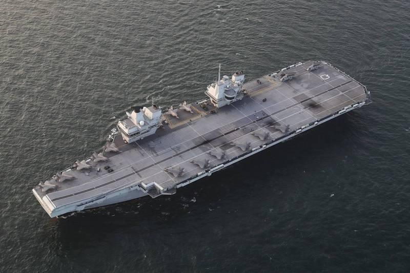劍指中國! 英國證實航艦將停靠日、韓 並與10多國聯合軍演