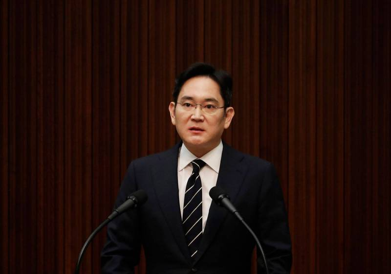 2020-05-06-南韓產業界出現要求政府赦免三星電子副會長李在鎔的聲浪,但青瓦台官員今(27)日表示,目前不考慮。(法新社)