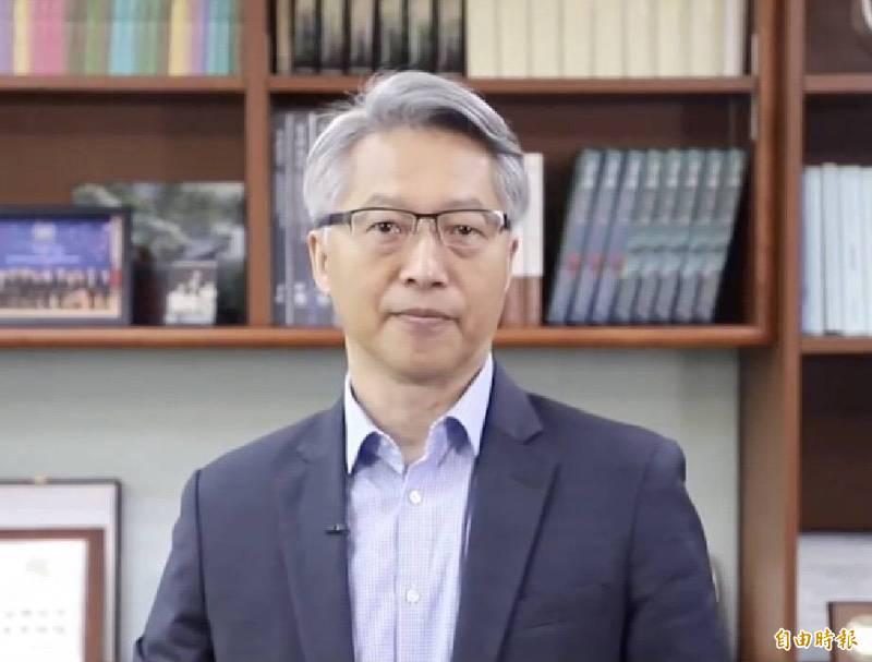 中研院院長廖俊智表示樂觀看待台灣可以達到減少碳排放的目標。(中研院提供)