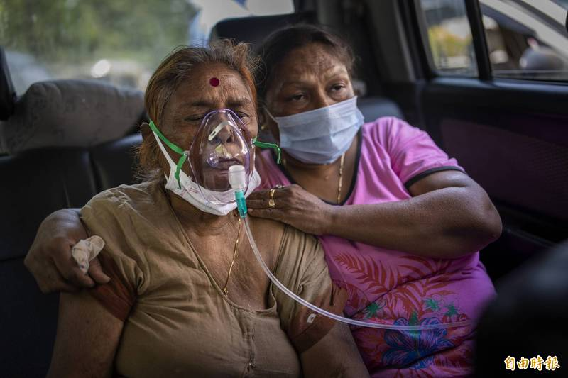 印度實際感染人數恐破5億。(美聯社)