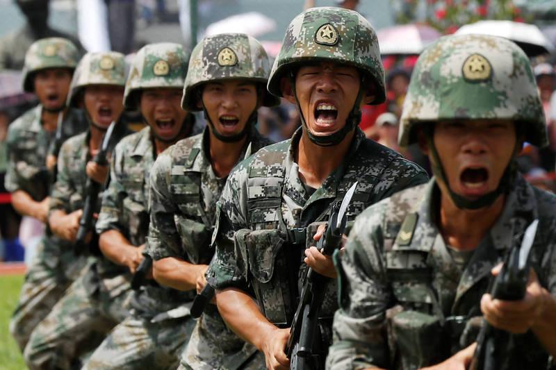 美國軍事記者艾克塞引述美國智庫蘭德分析:「如果解放軍沒有做好與美軍作戰的準備,那麼任何錯誤的評估都將是災難性的。」(路透檔案照)