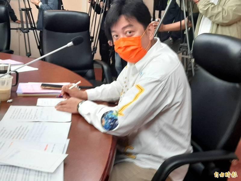 台北市議員李傅中武被傳關說。(記者郭安家攝)
