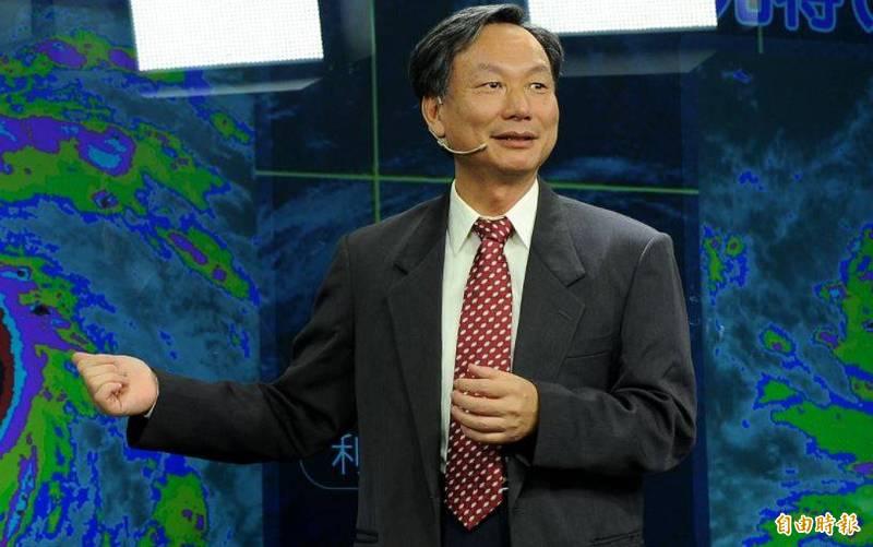 氣象局長鄭明典宣布,明早10點將召開「梅雨季記者會」。(資料照)
