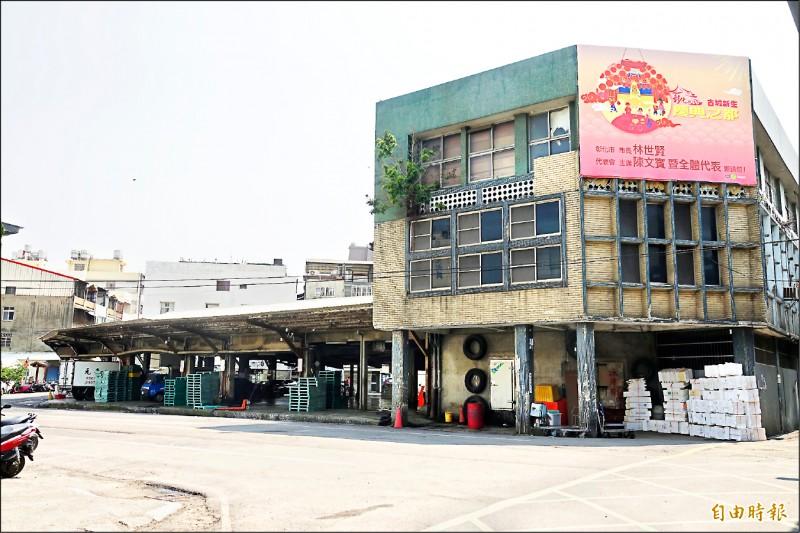彰化魚市場位於彰化市黃金地段,全年交易金額約9億元。 (記者劉曉欣攝)