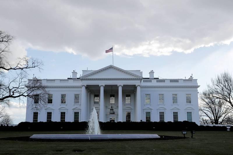 白宮周邊曾遭不明能量攻擊。(路透)