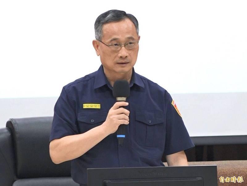警政署長陳家欽嚴正反駁台北市長柯文哲的批評。(資料照)