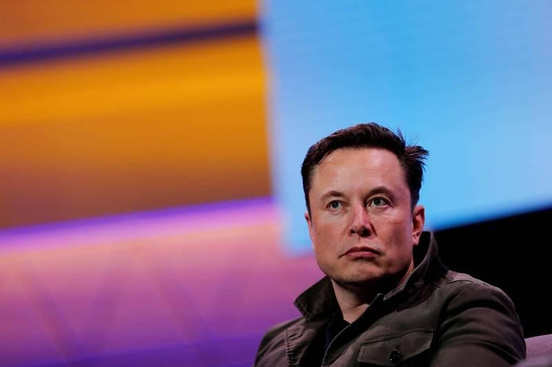 馬斯克SpaceX與NASA的登月合約因出現爭議中止。(路透)