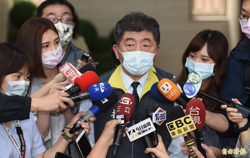 衛福部長陳時中表示,今年各國挺台聲量一定會提高,但要世界衛生組織秘書長譚德塞發函邀請有點困難,只是還是鼓勵他要做正確的事情。(記者劉信德攝)