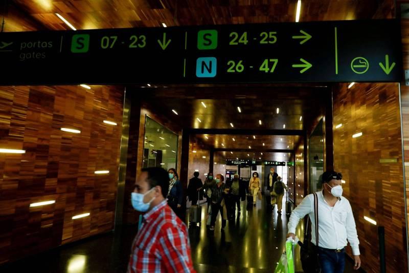 葡萄牙政府宣布飛航入境延長到5月16日。(路透)